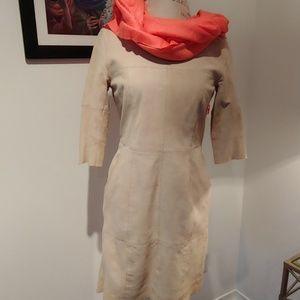 PRISTINE SUEDE DRESS